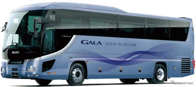 いすゞの大型観光バス、ガーラ(参考画像)《写真 いすゞ自動車》