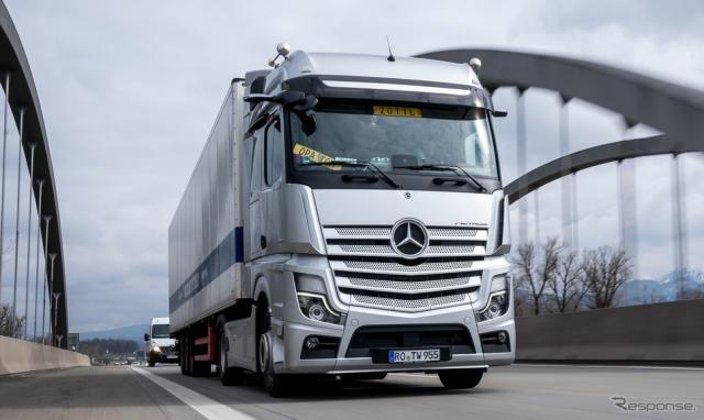 メルセデスベンツ・アクトロス 新型《photo by Mercedes-Benz 》