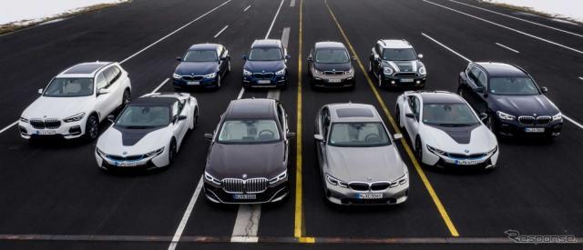 BMWグループの最新PHV《photo by BMW》