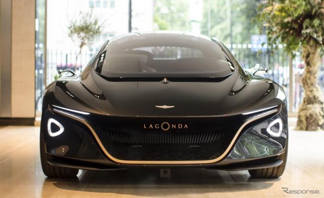 アストンマーティン初の電動車に特化したイベント「電動車の未来」に出展されたラゴンダ・ビジョン・コンセプト《photo by Aston Martin》