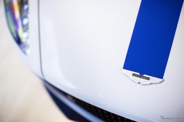 アストンマーティン初の電動車に特化したイベント「電動車の未来」に出展されたラピードE《photo by Aston Martin》