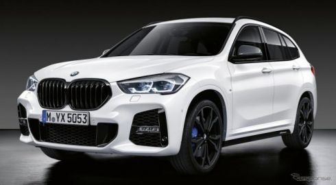 BMW X1 改良新型、Mパフォーマンスパーツを欧州で設定