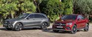 メルセデスベンツ GLC とGLCクーペ の改良新型《photo by Mercedes-Benz》