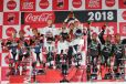 鈴鹿8耐 表彰式《写真 モビリティランド》