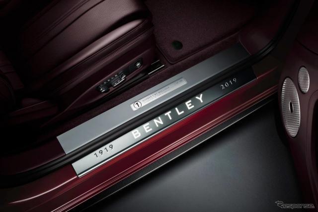 ベントレー・コンチネンタル GT コンバーチブル 新型のナンバーワン・エディション《photo by Bentley》