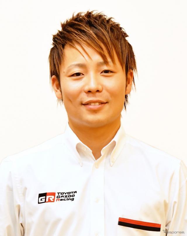 日本の期待を背負う勝田貴元(かつた たかもと)。《写真提供 TOYOTA》