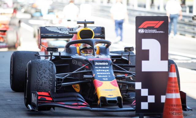 フェルスタッペン(F1オーストリアGP)《写真 ホンダ》
