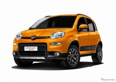 フィアット パンダ、6速MT & 4WDの限定モデル発売へ