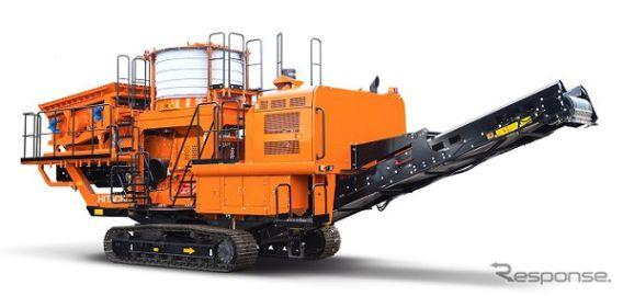 日立建機、自走式土質改良機 SR2000G-6 を発売 オフロード法2014年基準適合