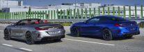 BMW M8 カブリオレ の量産第一号車とBMW M8 クーペ の量産第一号車《photo by BMW》