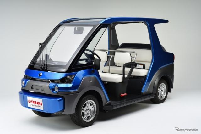 FC搭載の電動小型低速車両、ヤマハ YG-M FC《画像 ヤマハ発動機》