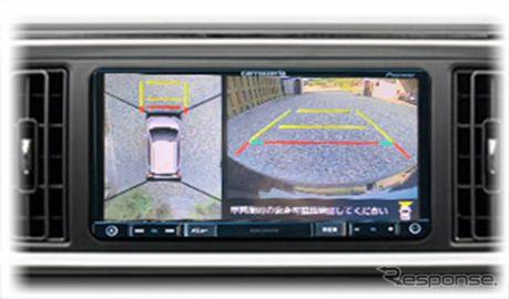 マルチカメラ映像を市販ナビに表示、パッソ / デリカD:5用を追加 データシステム