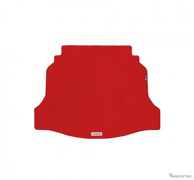 スポーツラゲッジマット(赤)《画像:無限》