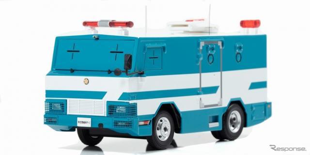 1/43スケール PV-2 2007 警察本部警備部機動隊特型警備車両《画像:ヒコセブン》