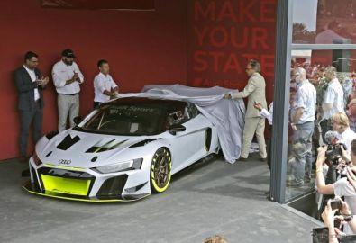 アウディの新たなカスタマーレーシングモデル「R8 LMS GT2」…グッドウッド2019
