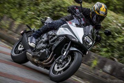 【スズキ カタナ 新型試乗】新たな伝説となるか?復活の「最強ストリートバイク」…青木タカオ