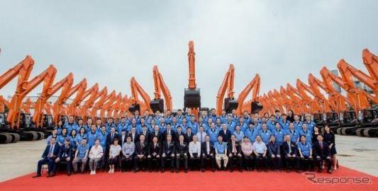 日立建機、カナモト中国から大型油圧ショベル21台を受注