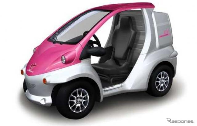 次世代モビリティの例:トヨタ車体コムス(参考画像)