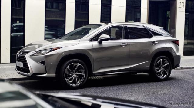 レクサスRX (欧州仕様)《photo by Lexus》