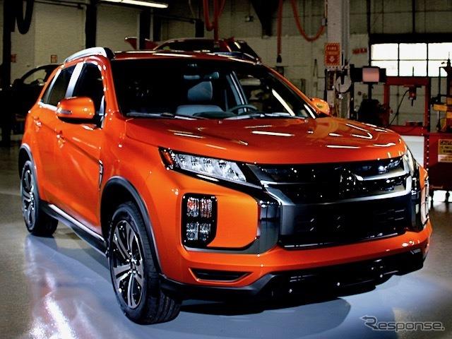 三菱アウトランダー・スポーツ(RVRに相当)の2020年型《photo by Mitsubishi Motors》