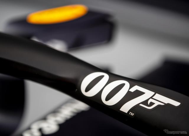 """レッドブルRB15はイギリスGPで""""007""""仕様となる。《写真提供 Red Bull》"""