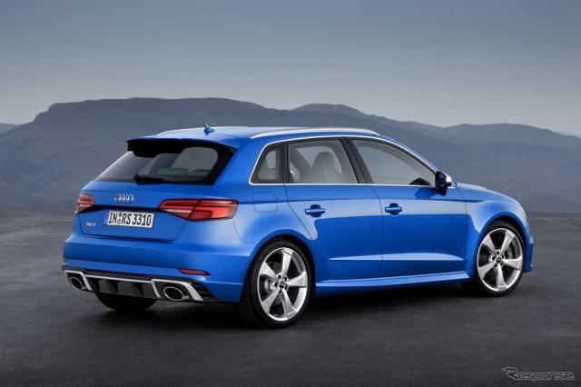 アウディRS3スポーツバック改良新型《photo by Audi》