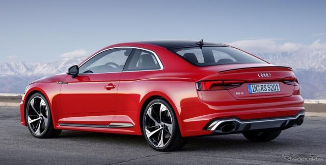 アウディ RS5 クーペ 新型《photo by Audi》