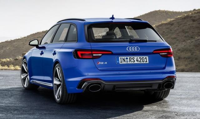 アウディ RS4 アバント 新型《photo by Audi》
