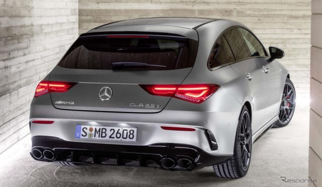 メルセデスAMG CLA45 S 4MATIC+ シューティングブレーク 新型《photo by Mercedes-Benz》