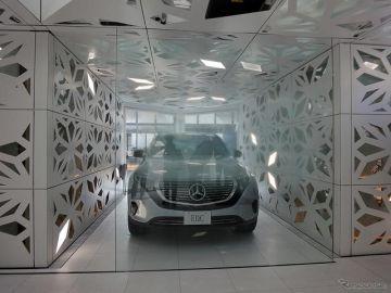 メルセデス次世代インフォテインメントが実装された家にLOVOTが加わると…Mercedes me Tokyo 夏限定イベント