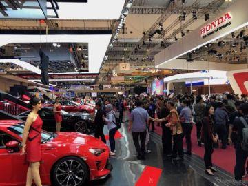 インドネシアでも電動車がトレンド、国際オートショー開幕…ダイハツ社長、三菱自会長が駆けつける