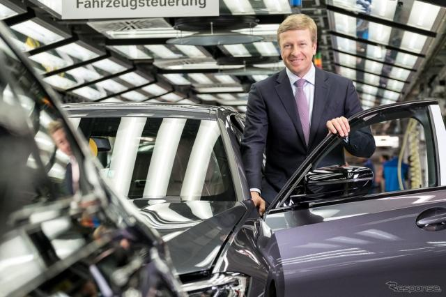 BMWグループの新会長に指名されたオリバー・ツィプセ氏《photo by BMW》