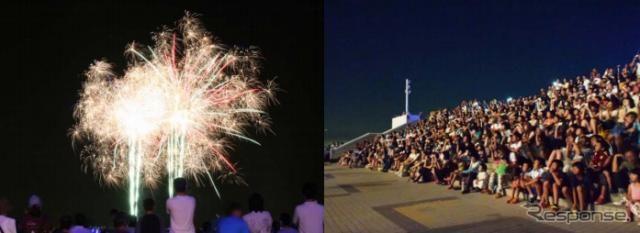 【夏休み】海ほたるでサマーフェスティバル、ライブや花火など
