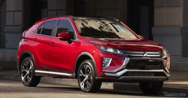 三菱 エクリプス クロス の2019年モデル(米国仕様)《photo by Mitsubishi Motors》