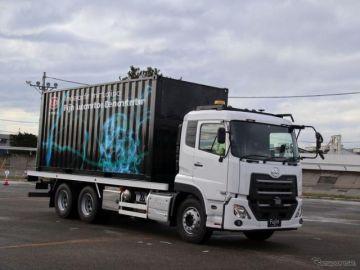 UD/日通/ホクレン、北海道で自動運転トラックの実証実験へ 農産品の輸送力確保