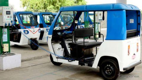 三井物産、インドの三輪EVライドシェアサービスに参画 15億円を出資