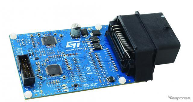 ECUリファレンス設計のSPC5-L9177A-K02《画像:STマイクロエレクトロニクス》