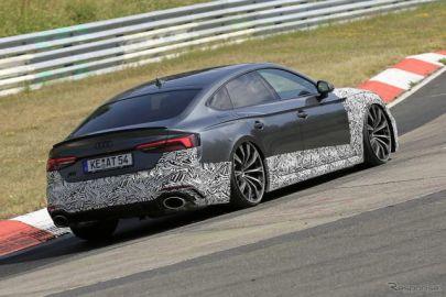 レアスクープ? アウディ A5 最新モデルと同時開発のチューニングカー「RS5 R」とは