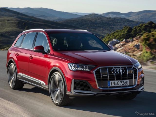 アウディ Q7 改良新型《photo by Audi》