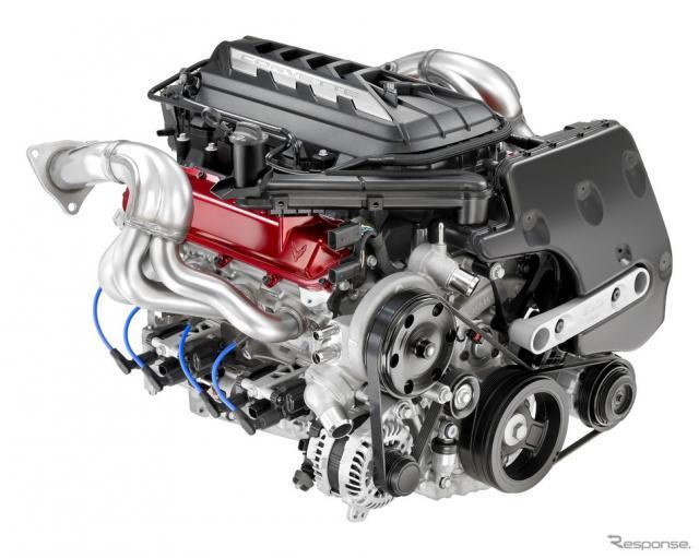 シボレー・コルベット・スティングレイ 新型の新世代6.2リットルV8《photo by Chevrolet》