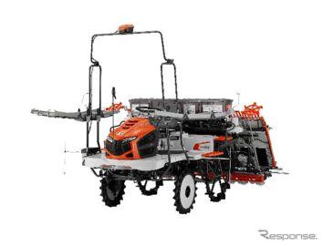 クボタの田植機『ナビウェル』、機械工業デザイン賞を受賞