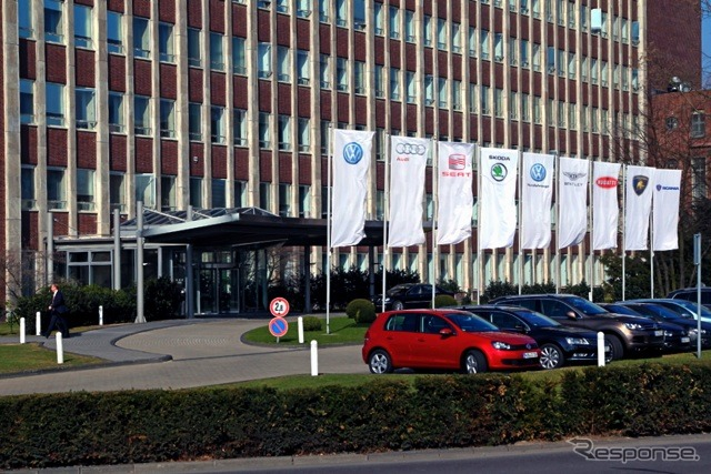 VWグループの本社《photo by VW》