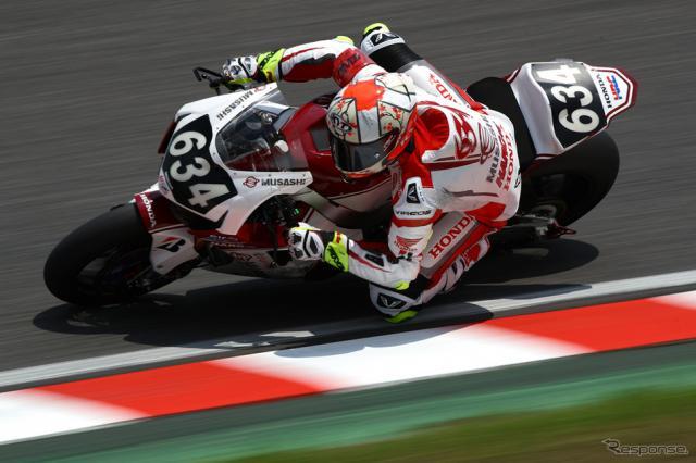 計時予選4番手のMuSASHi RT HARC-PRO.Honda