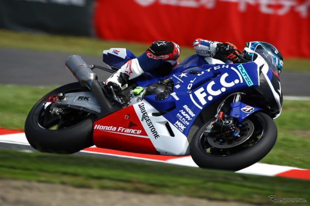 計時予選7番手のF.C.C. TSR Honda France