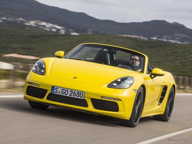 ポルシェ718ボクスター《photo by Porsche》
