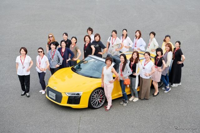 アウディジャパン、女性限定のドライビングレッスンを初開催《写真 アウディ ジャパン》