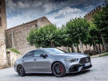 メルセデスベンツ CLA 新型に頂点、421馬力の「AMG45」…欧州発売へ