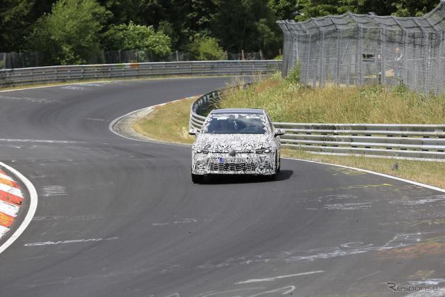 VW ゴルフ GTI 次期型 スクープ写真《APOLLO NEWS SERVICE》