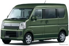 スズキ エブリイ/エブリイワゴン 車いす移動車、安全装備を充実