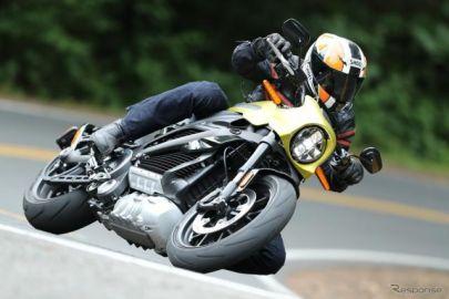 【ハーレー ライブワイヤー 海外試乗】まさに『トロン』の光電子バイク!爽快な走りに心ときめく…佐川健太郎